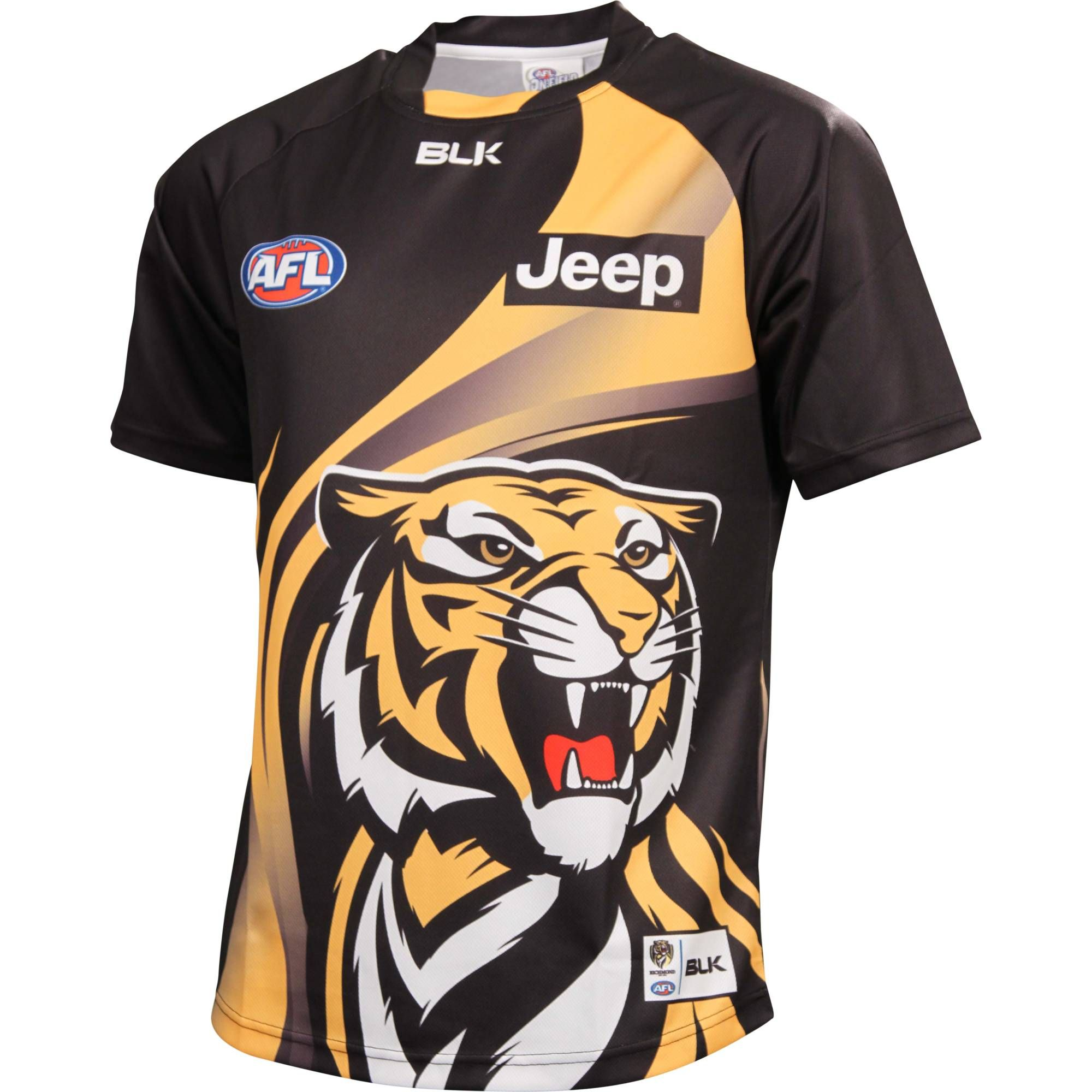 Richmond tigers 2014 men s official run out top richmond fc official online store
