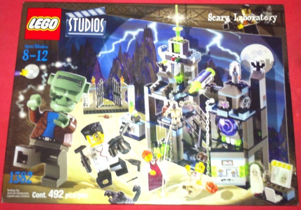 Lego Studios Scary Laboratory 492 Pieces SEALED 2002 | eBay