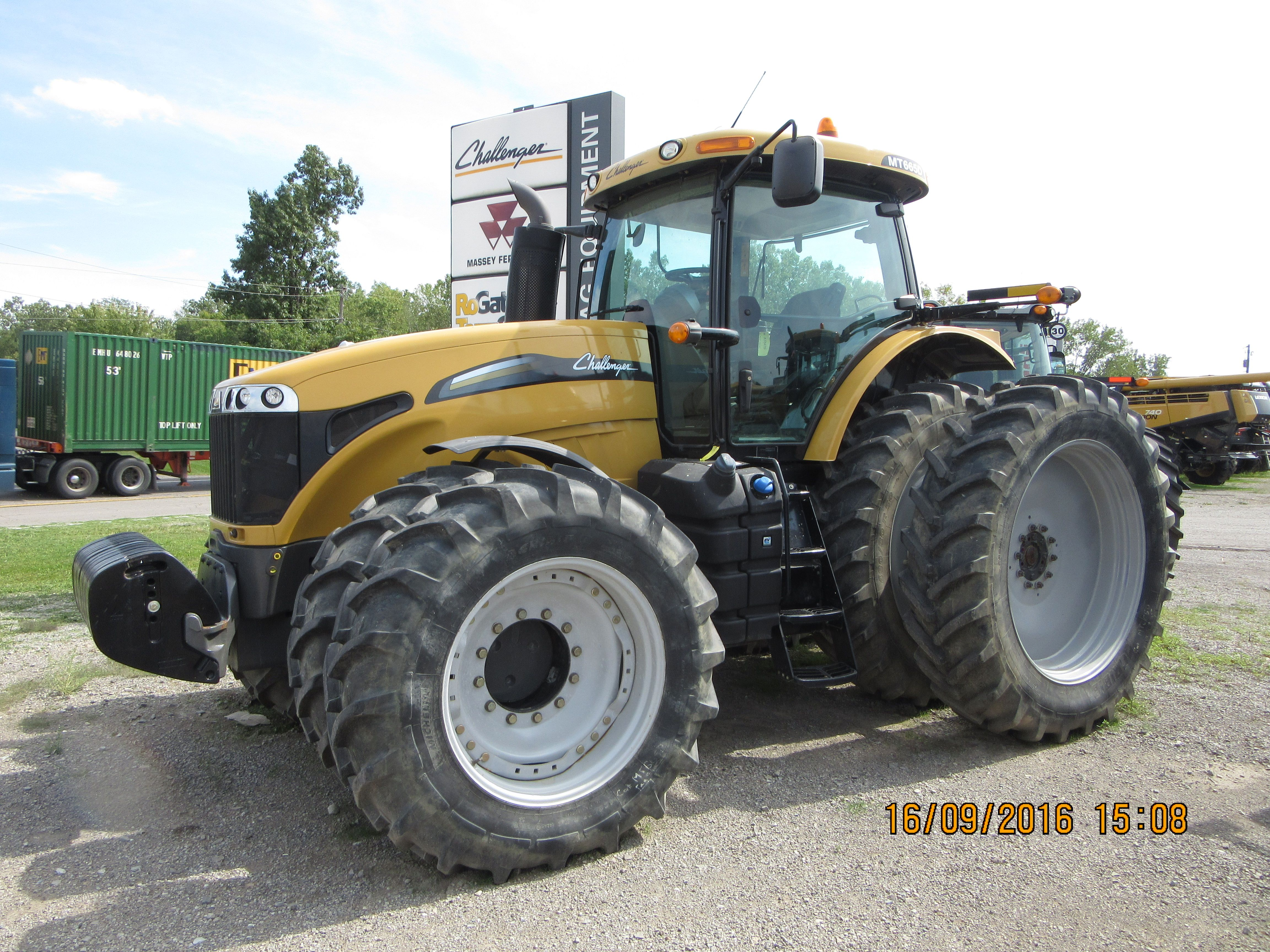Challenger MT665D (With images) Tractors, Challenger