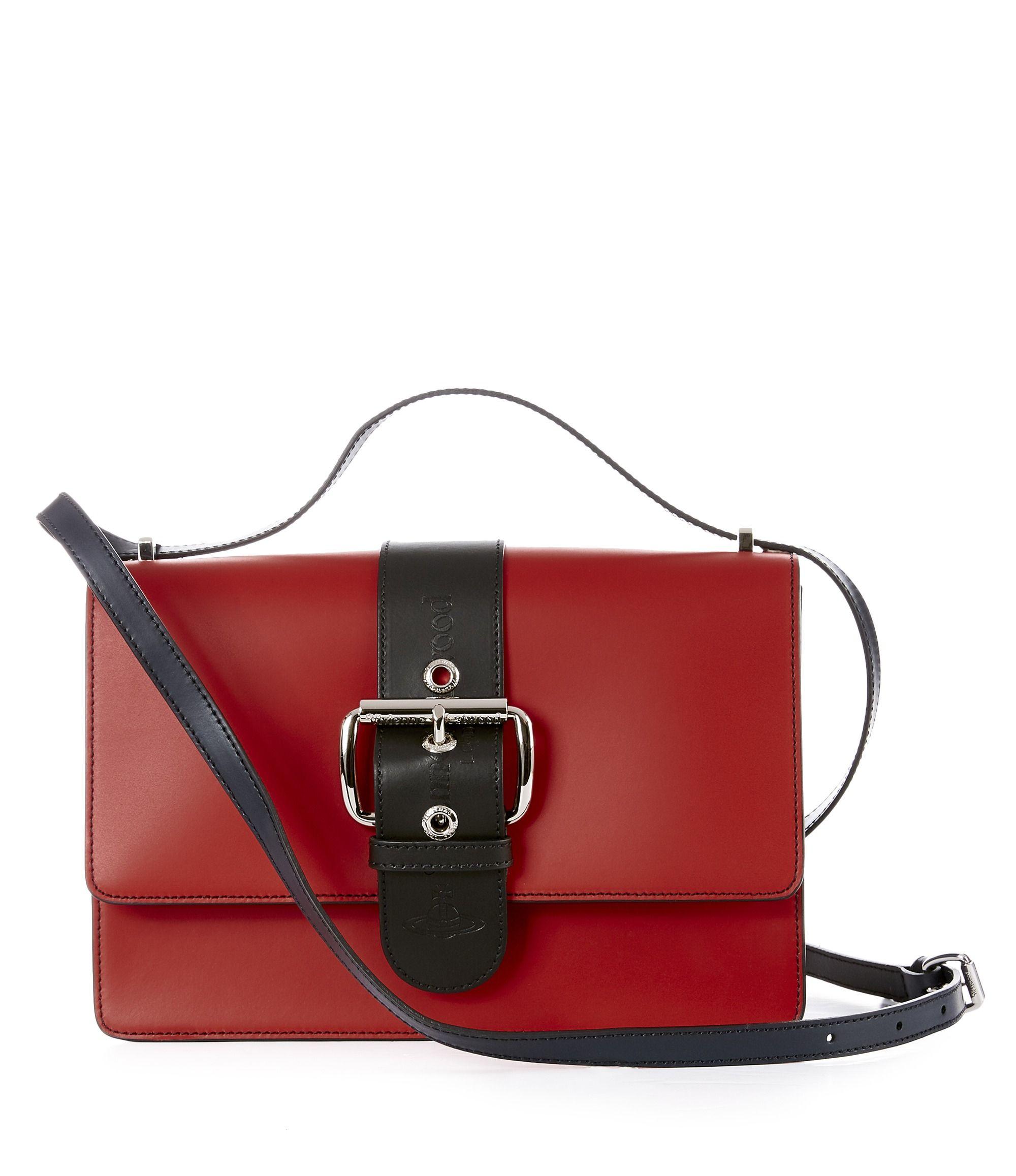 f73456e465 VIVIENNE WESTWOOD Alex Crossbody Bag 43040009 Red.  viviennewestwood  bags  shoulder  bags  leather  crossbody