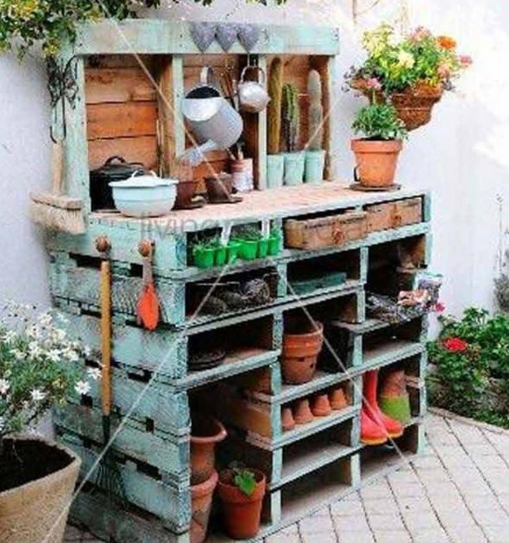 20 bonnes id es pour recycler des palettes cet t jardinage pinterest jardins jardinage. Black Bedroom Furniture Sets. Home Design Ideas