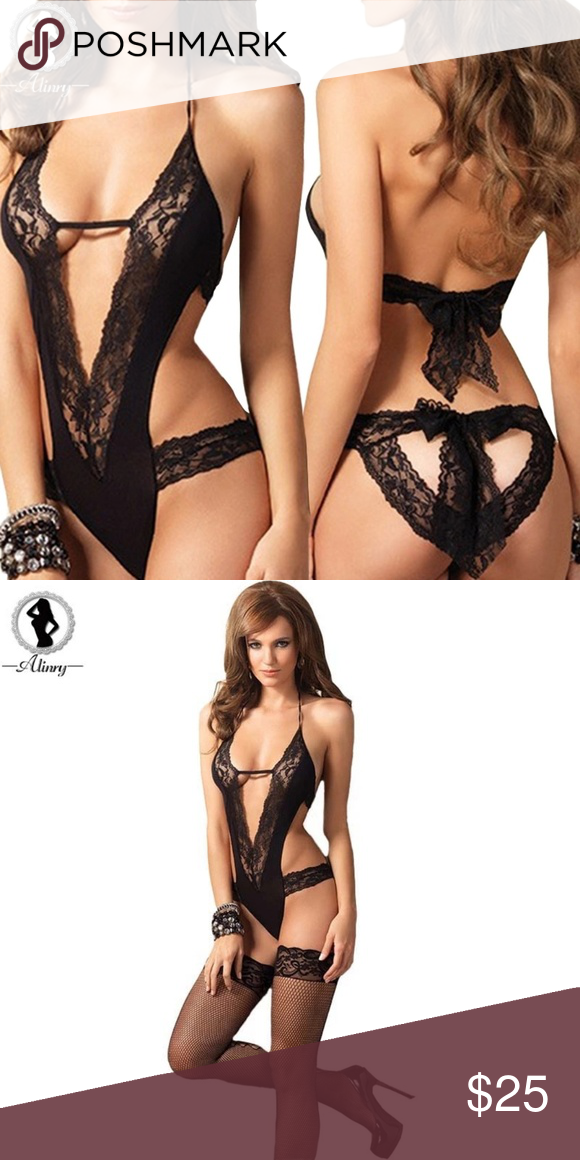3ea35f4508540 new sexy lingerie hot black lace Splice erotic lin new sexy lingerie hot black  lace Splice erotic lingerie Teddy sexy costumes temptation lenceria ...