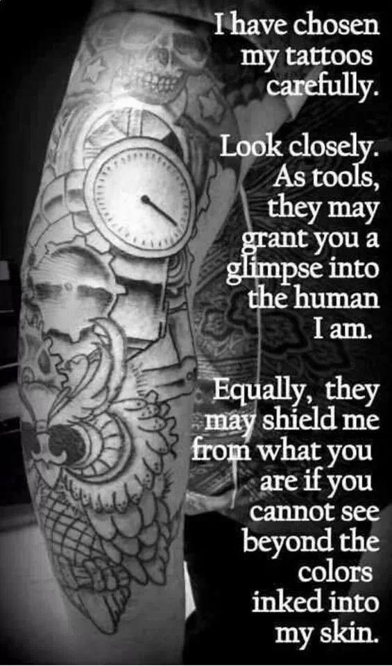 Tattoo Quotes Judgement