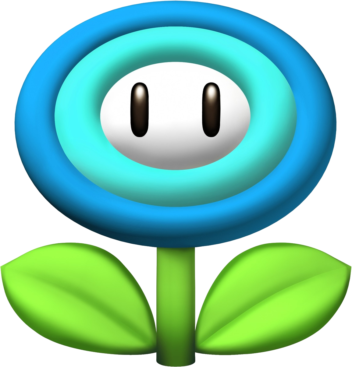 Ice Flower Mario Flower And Mario Bros