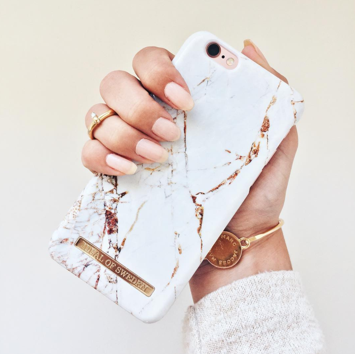 Carrara Gold by  ellenstubner - Fashion case phone cases iphone inspiration  iDeal of Sweden  marble  carrara  gold  fashion  inspo  iphone  marmor 756fbd5fca232