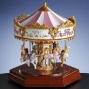 Carousel Horse Music Boxes From The San Francisco Music Box Company
