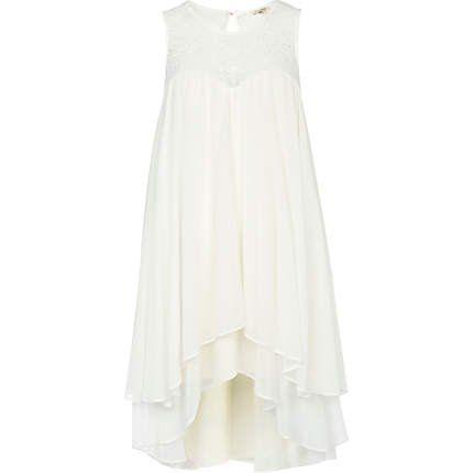 Białe sukienki, River Island, ok. 265zł