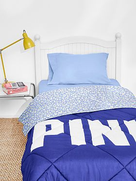 Bed in a Bag blue cheetah PINK