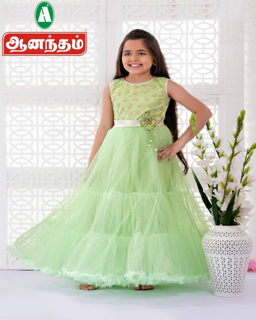 144b70fc7e9 Fancy Maxi Dresses For Girls Only   Anantham Silks