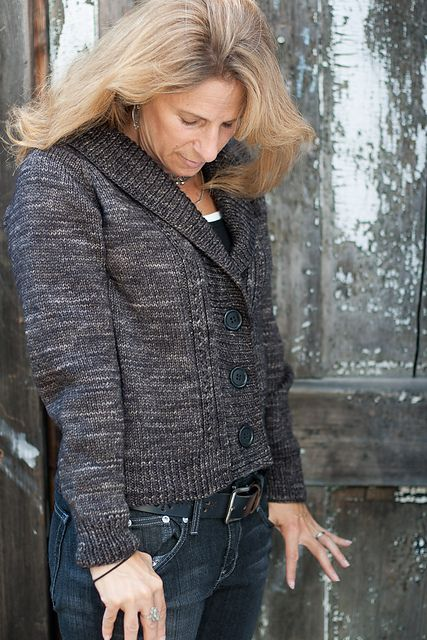 Ravelry: Dark and Stormy pattern by Thea Colman;another knitted cardigan I like. need to learn to knit!