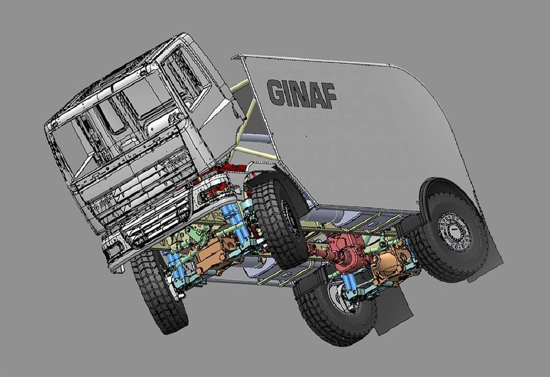 dakar rally truck ginaf rally oude trucks vrachtwagens