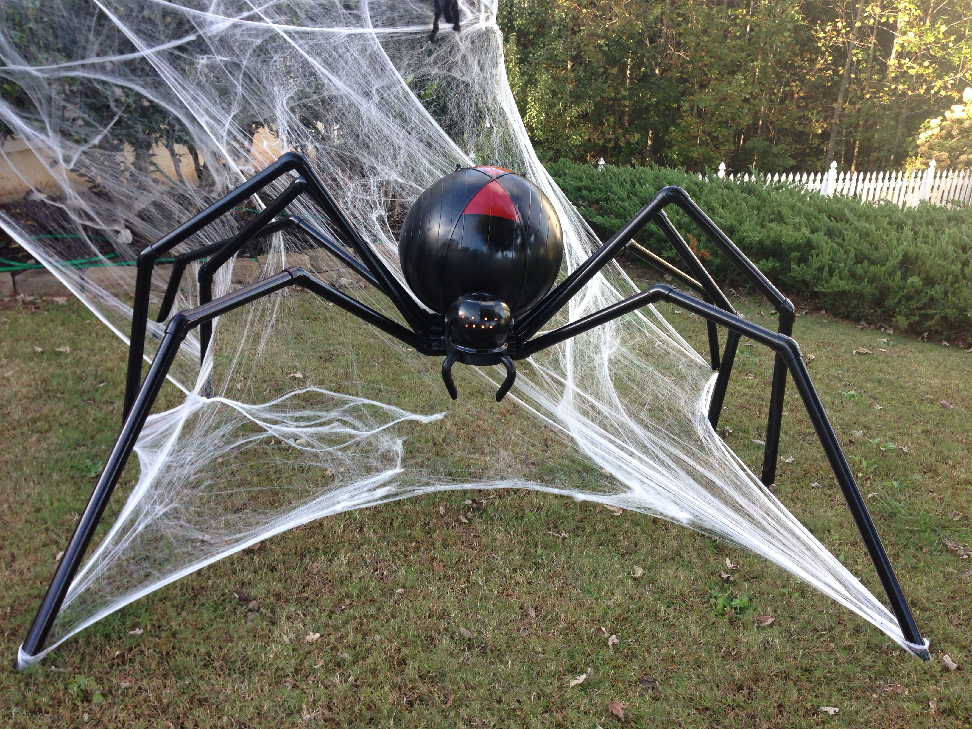 Huge Spider Halloween Decoration Scary Halloween Decorations Outdoor Halloween Outside Scary Halloween Decorations