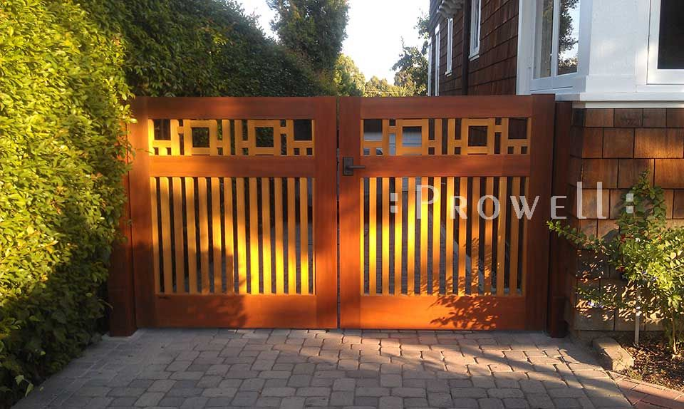 Arts And Crafts Fence Design He Driveway Gate 20 For This