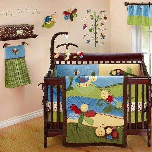 Critter Babies 7 Piece Baby Crib Bedding Set by Nojo   Cool stuff to ...