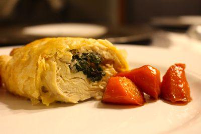 Chicken En Croute with White Wine Pan Sauce | Twenty Something Living