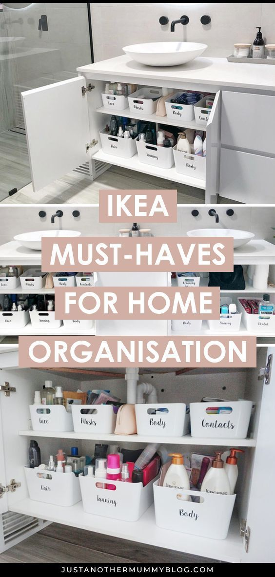 IKEA Must-Haves for Home Organisation