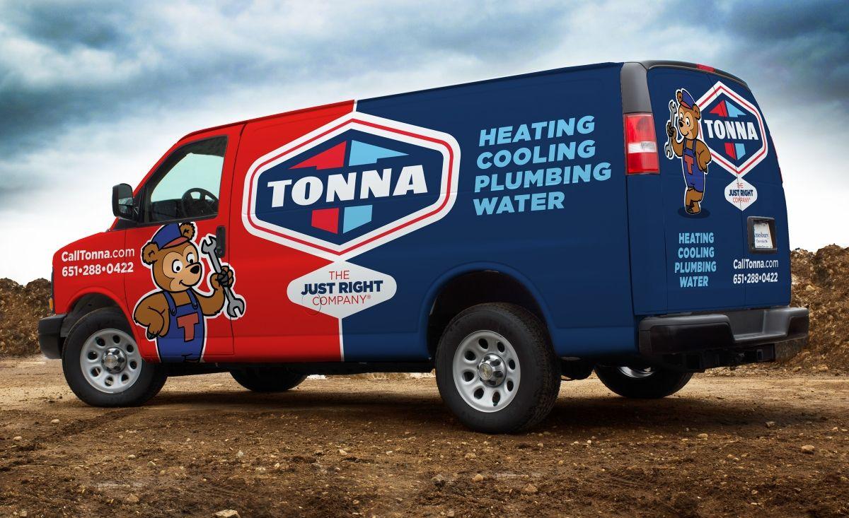 Fleet Branding For A Hvac Contractor Located In Minnesota Nj