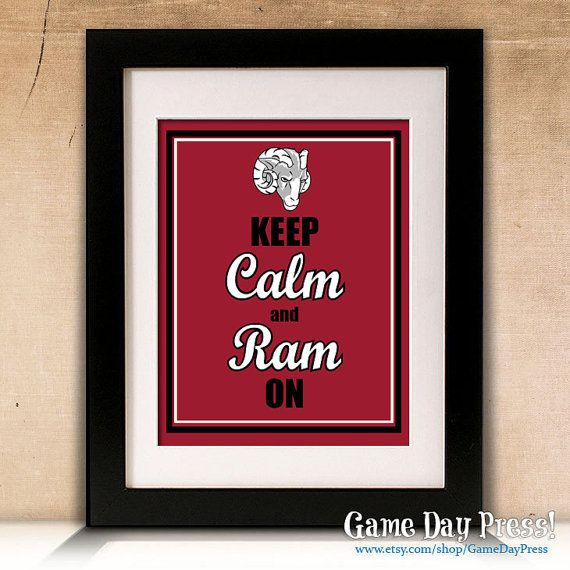 Hey, I found this really awesome Etsy listing at https://www.etsy.com/listing/165071358/fordham-university-keep-calm-and-ram-on