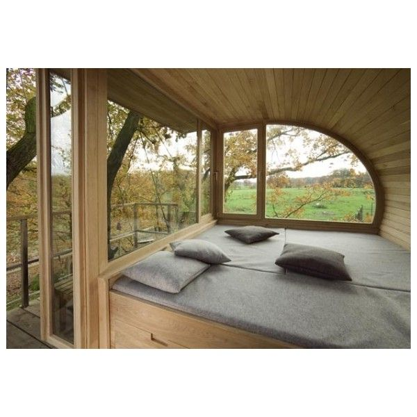 Great tree houses by Baumraum ❤ liked on Polyvore featuring house, pictures and pics