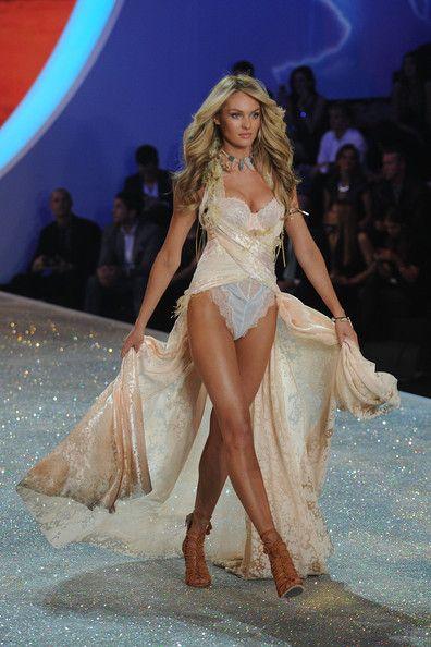 0ad0078229 Candice Swanepoel - Swarovski Sparkles In The 2013 Victoria s Secret  Fashion Show