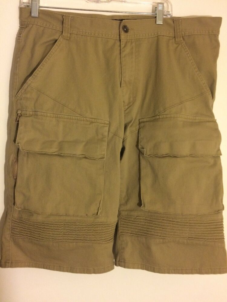 66e338fb21 Decibel Men's Size 36 Brown Cargo Shorts Multi-Pocket Short Cotton Pants  #fashion #clothing #shoes #accessories #mensclothing #shorts (ebay link)