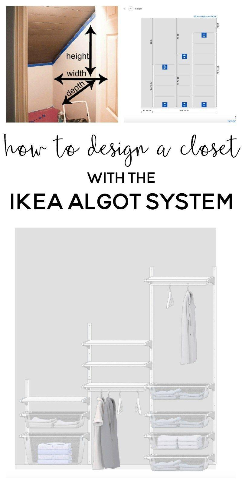 Ikea Algot Closet | Ikea Closet | Ikea Closet Ideas | Ikea Closet  Organization | Algot