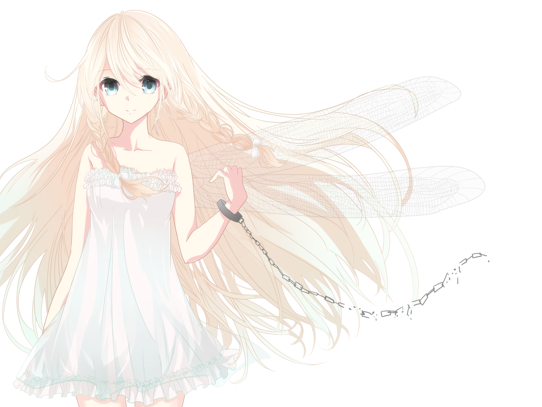 Pin By Addison On Magical Blonde Hair Blue Eyes Anime Long Hair Blonde Hair Girl