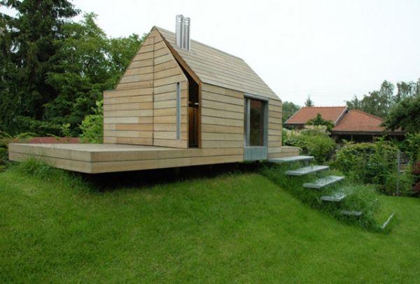stelzenhaus f r kinder maja house ultra architects poland h tte pinterest gartenhaus f r. Black Bedroom Furniture Sets. Home Design Ideas
