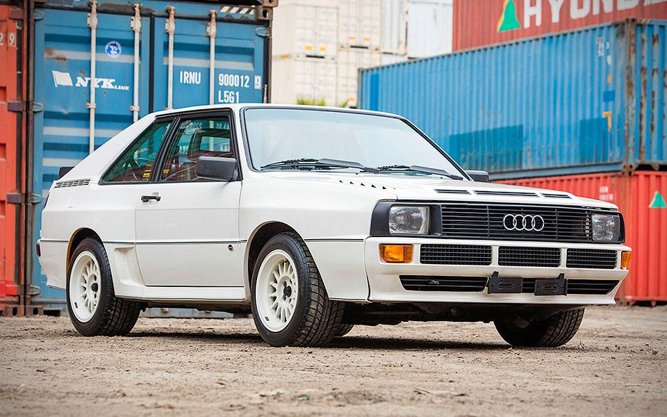 1985 AUDI SPORT QUATTRO S1 The legendary Quattro. This was a one-owner example since the car left t