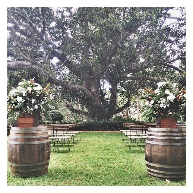 Brisbane Wedding Ceremony Set Up By The Parlour Events