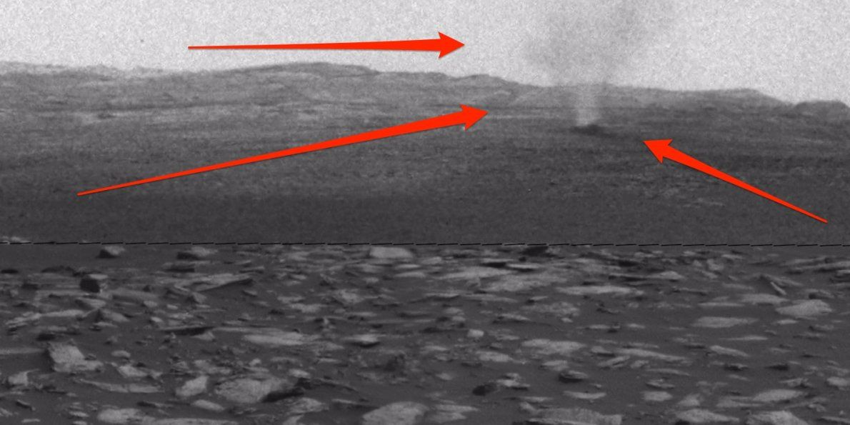 #NASA captured incredible footage of tornadoes on #Mars