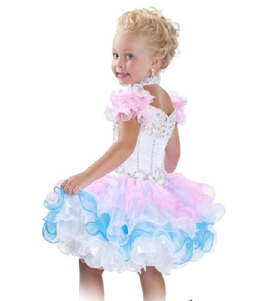 Little Girls Pageant Dresses Short Pageant Dresses For Girls Ball ...