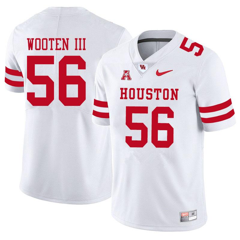 Men #56 Dixie Wooten III Houston Cougars College Football Jerseys ...