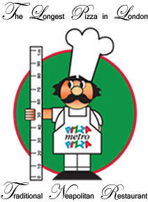 Bilderesultat for pizza metro pizza logo