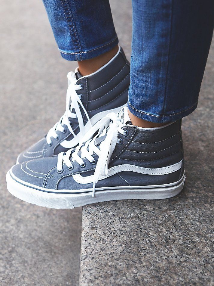 Sk8-Hi Top Sneakers | How to wear vans, High tops outfit ...