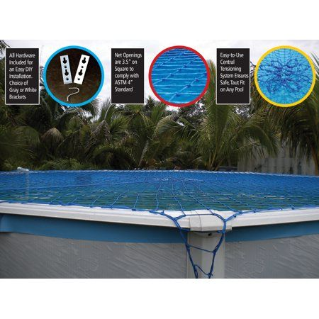 Water Warden Pool Safety Net | Pool safety net, Water, Safety