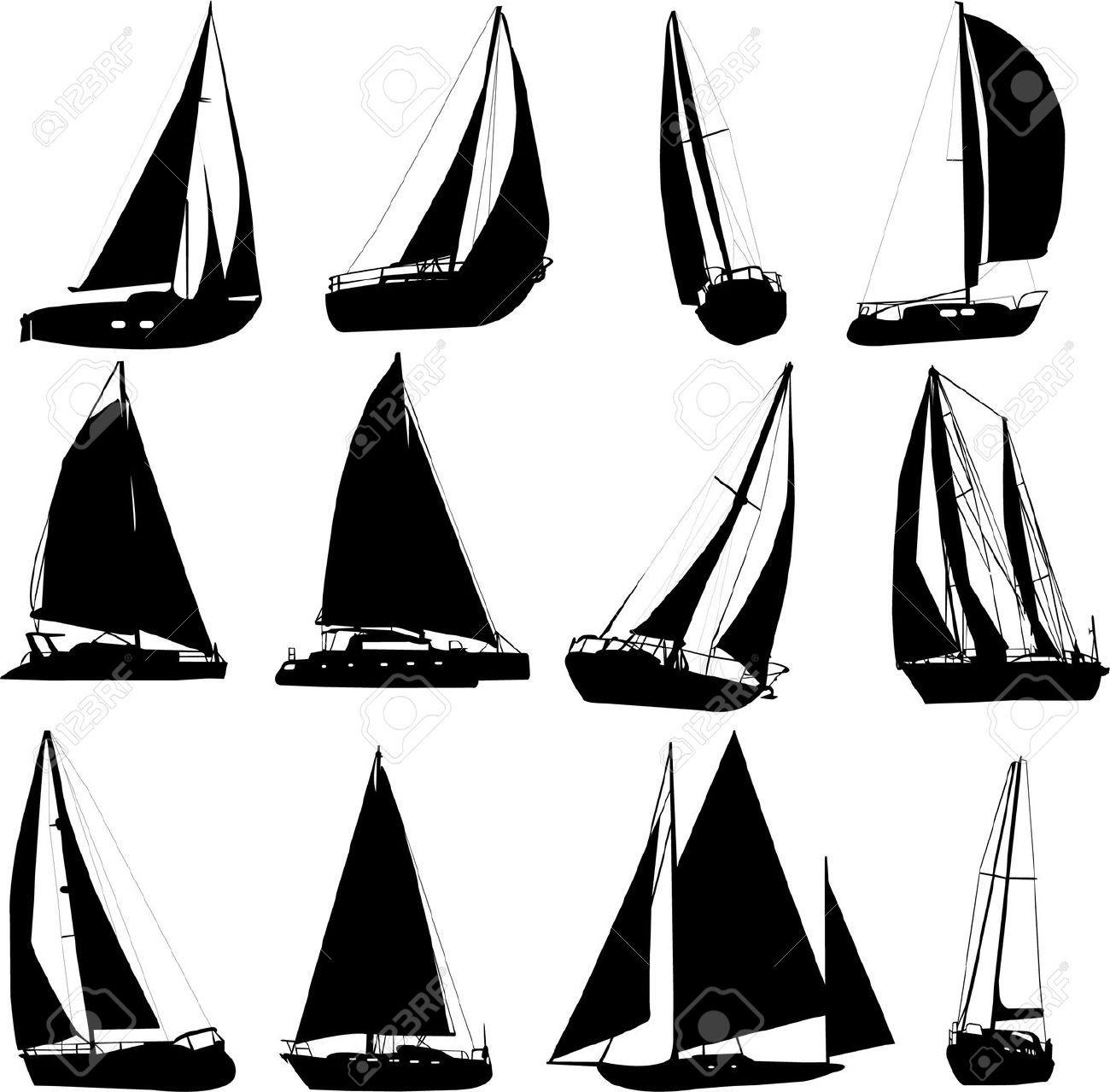 5535783-sailing-boat-silhouettes-vector-stock-vector-boat-sailboat