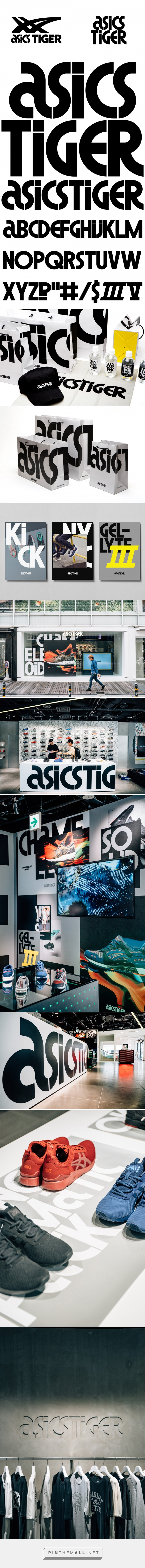 Brand New New Logo and Identity for ASICS Tiger by Alan Peckolick