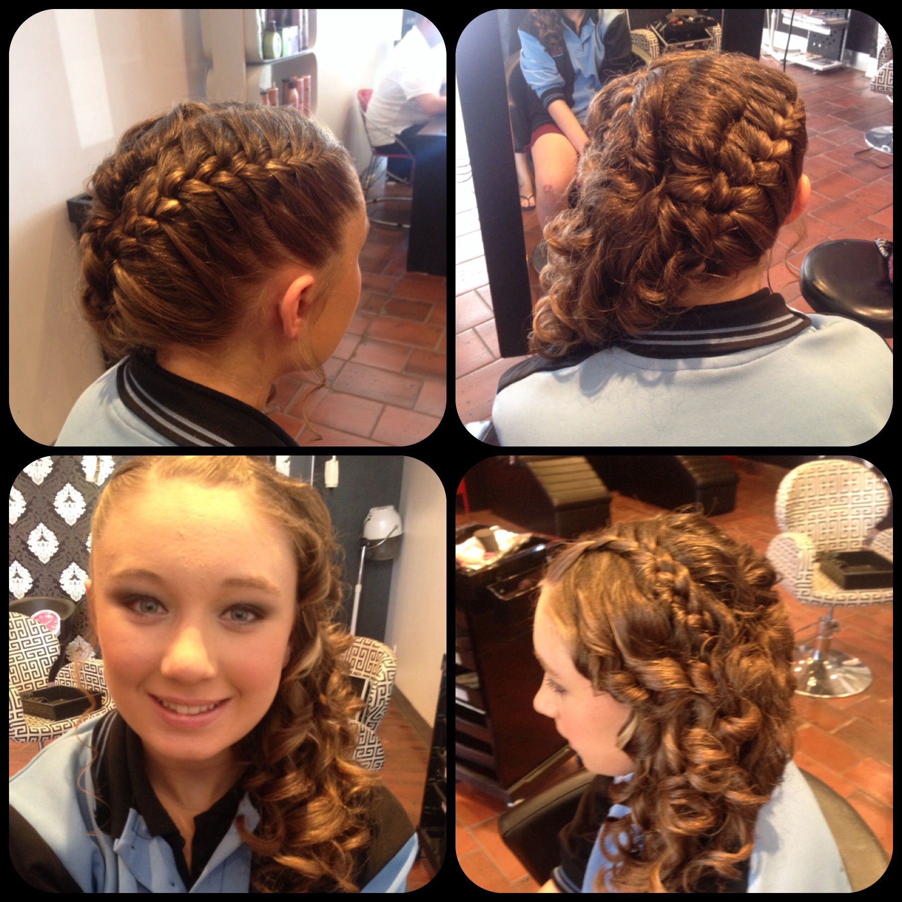 Hair Up For Grade 6 Graduation Up Hairstyles Hair Styles Hair