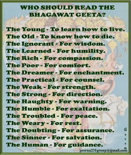 For Living Beings To Avoid Action All Together The Bhagavad Gita Therefore Offers A Practical Approach Liberation In Form Of Karma Yoga