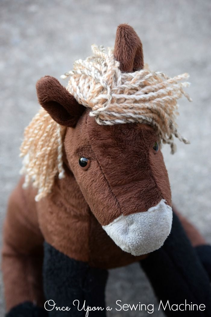 Horse Stuffed Animal Pattern #horsepattern