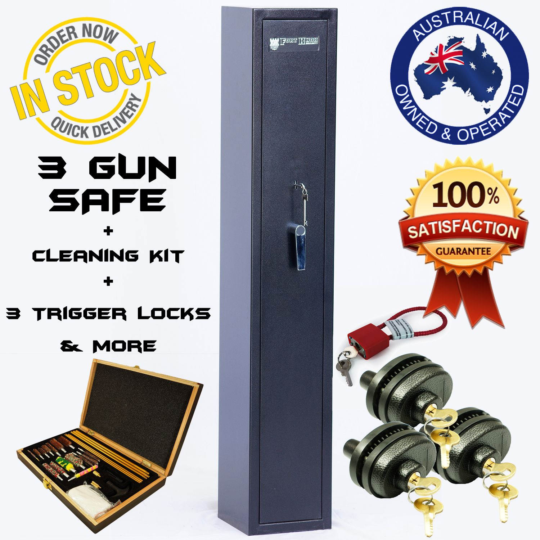 Fort Knox 3 Gun Safe + extras | FORT KNOX GUN SAFES | Gun