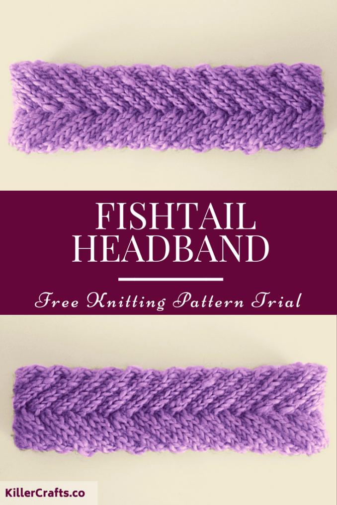 Fishtail Headband - Free pattern from LoveKnitting at ...