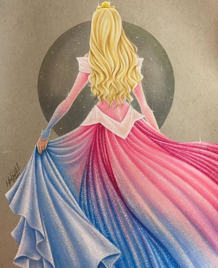 unique Disney Tattoo - Sleeping Beauty