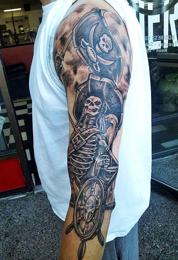 Tampa Bay Buccaneers Tattoo Designs Tattoos Half Sleeve Tattoos Designs Sleeve Tattoos