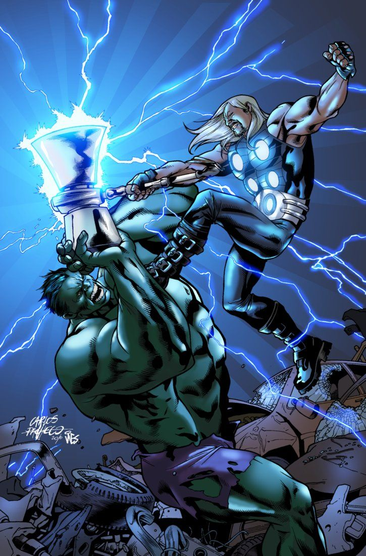 hulk fan art thor vs hulk by nimprod thank u 4 pinning