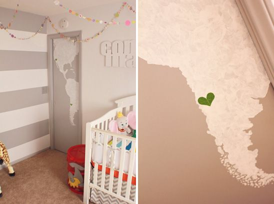 Modern, Colorful Circus Themed Nursery Gallery