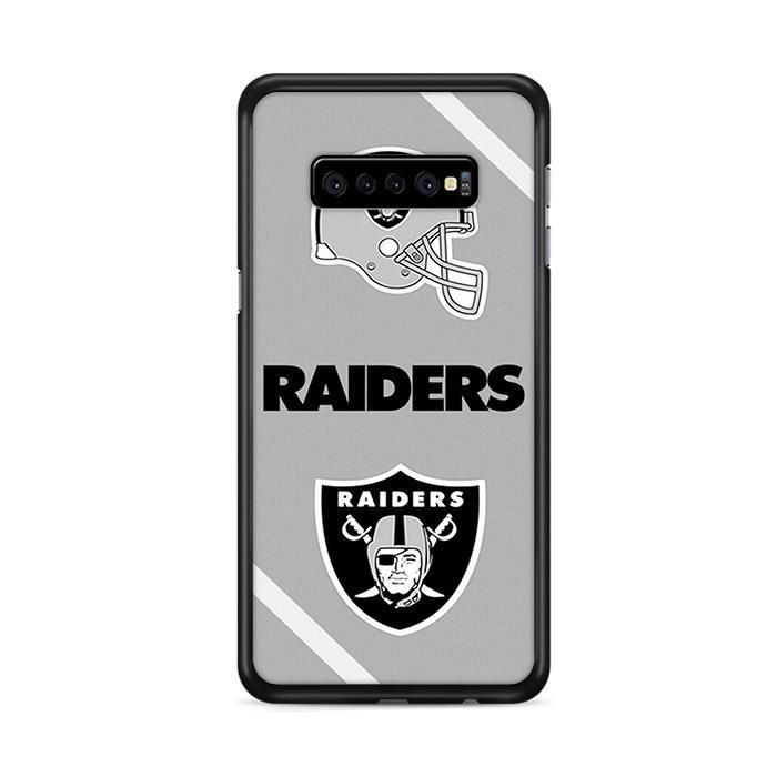 Oakland Raiders Wallpaper Samsung Galaxy S10 Cases