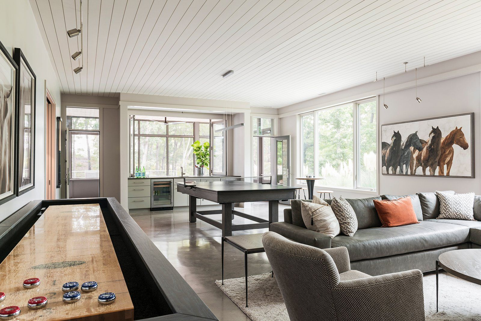 Mill Spring Modern Farmhouse Modern Home in Mill Spring, North… on Dwell