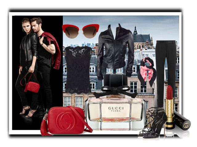 """Untitled #6256"" by snowmoon ❤ liked on Polyvore featuring Gucci and Dolce&Gabbana"
